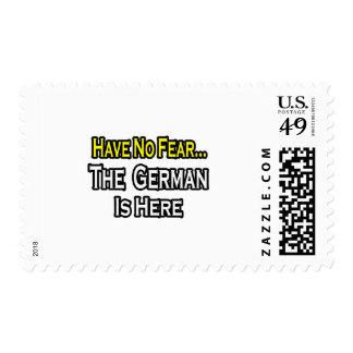 No hay alemán del miedo… aquí sellos