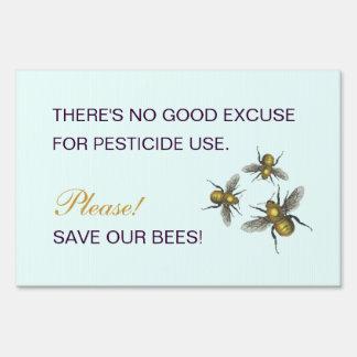 No hay buena excusa para el uso del pesticida señales