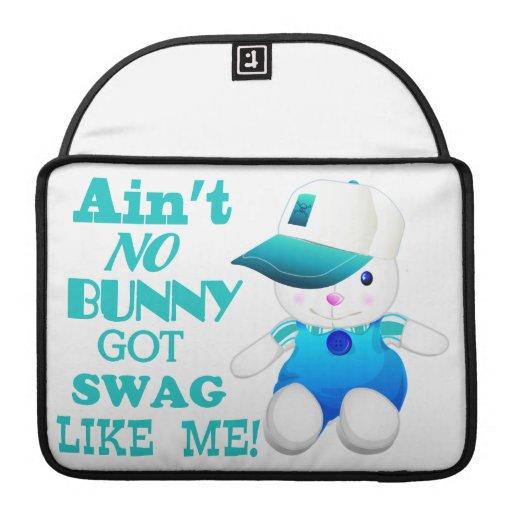 No hay conejito conseguido el Swag como mí Fundas Macbook Pro