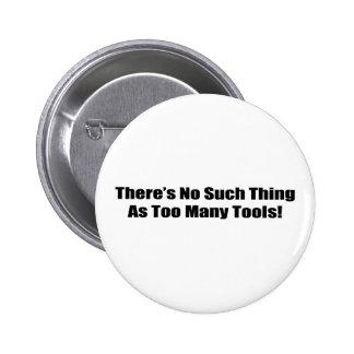 No hay cosa tal como demasiadas herramientas