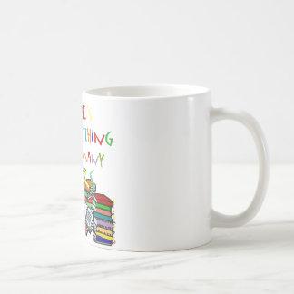 ¡No hay cosa tal como demasiados libros! Tazas De Café