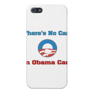 No hay cuidado en el cuidado de Obama iPhone 5 Cárcasas
