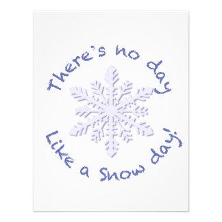 ¡No hay día como un día de la nieve Invitación