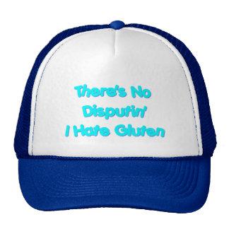 No hay Disputin que odio el gluten Gorra