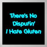No hay Disputin que odio el gluten Impresiones