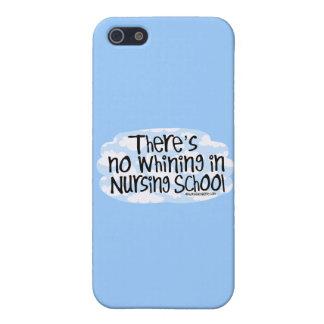 No hay gimoteo en escuela de enfermería iPhone 5 carcasa