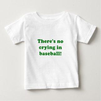 No hay griterío en béisbol playera de bebé