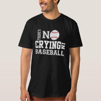NO HAY GRITERÍO en camiseta del BÉISBOL Playeras