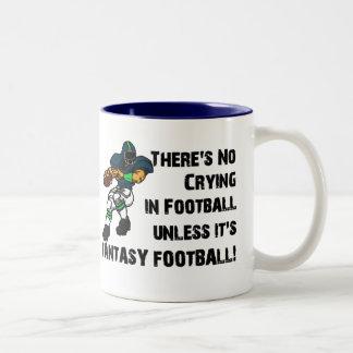 No hay griterío en fútbol taza de dos tonos