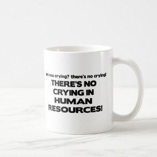 No hay griterío en recursos humanos taza clásica