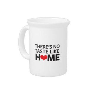 No hay gusto como hogar jarra para bebida