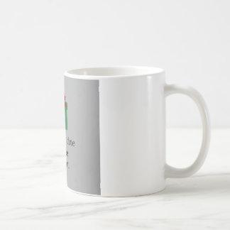 No hay hora como el presente taza