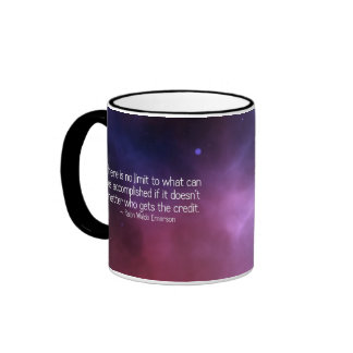 No hay límite a qué puede ser (2) realizado taza de dos colores
