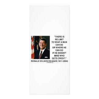 No hay límite a un qué hombre puede hacer cita diseño de tarjeta publicitaria