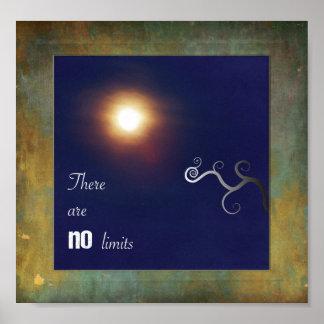 No hay límites póster