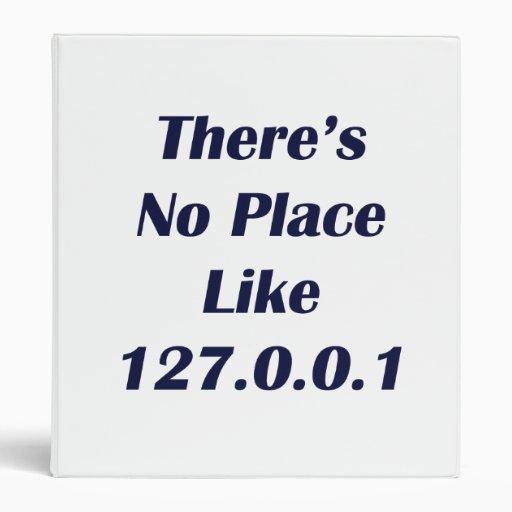 No hay lugar como 127001