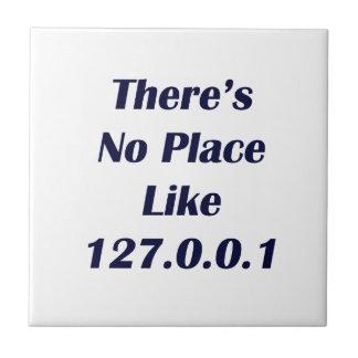 No hay lugar como 127001 azulejo cuadrado pequeño