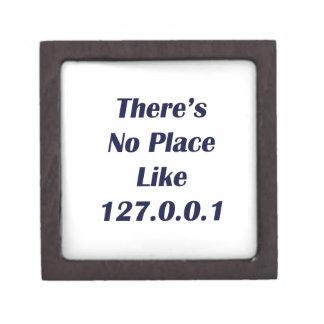 No hay lugar como 127001 cajas de recuerdo de calidad