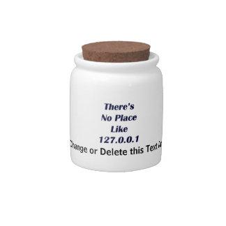 No hay lugar como 127001 jarra para caramelo