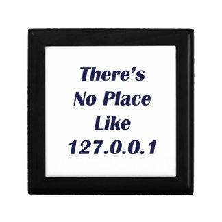 No hay lugar como 127001 joyero cuadrado pequeño