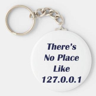 No hay lugar como 127001 llavero redondo tipo pin