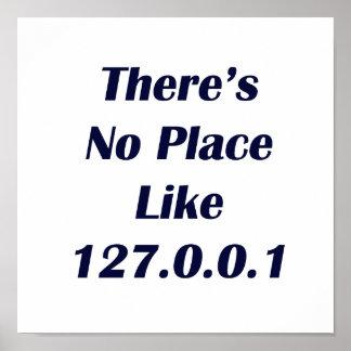 No hay lugar como 127001 póster