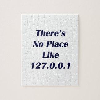 No hay lugar como 127001 rompecabezas con fotos