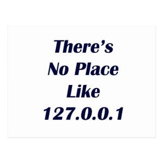 No hay lugar como 127001 postales