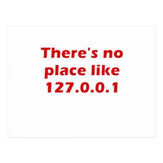 No hay lugar como 127001 postal
