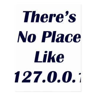 No hay lugar como 127001 tarjetas postales