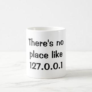 No hay lugar como 127.0.0.1 taza