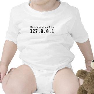 No hay lugar como 127.0.0.1 trajes de bebé