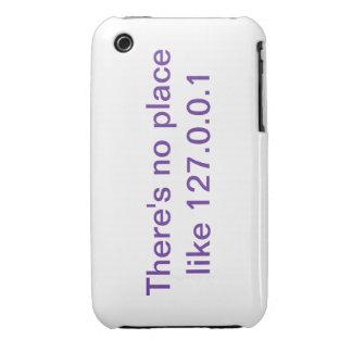 No hay lugar como el caso del iPhone 3Gs de 127.0. iPhone 3 Case-Mate Cárcasa