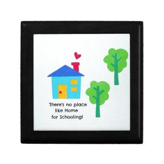 ¡No hay lugar como el hogar para enseñar! Cajas De Regalo