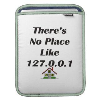 No hay lugar como el negro con la casa manga de iPad