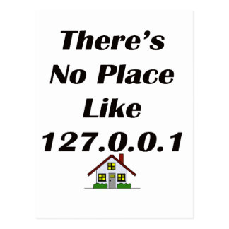 No hay lugar como el negro con la casa postal
