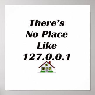 No hay lugar como el negro con la casa poster