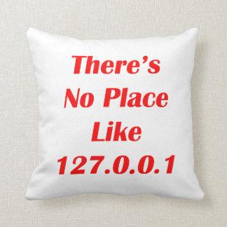 No hay lugar como el rojo 127001 cojines