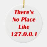 No hay lugar como el rojo 127001 ornamente de reyes