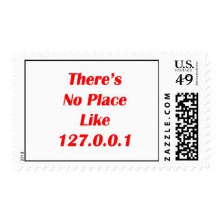 No hay lugar como el rojo 127001 franqueo