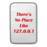 No hay lugar como el rojo 127001 fundas macbook air