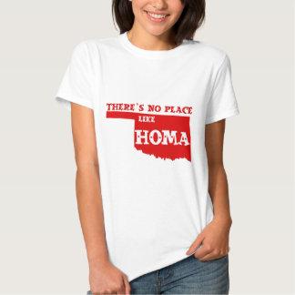 No hay lugar como Homa Oklahoma Playera
