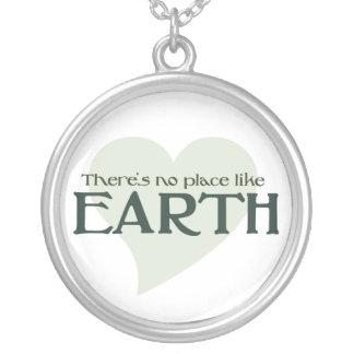 No hay lugar como la tierra colgante personalizado