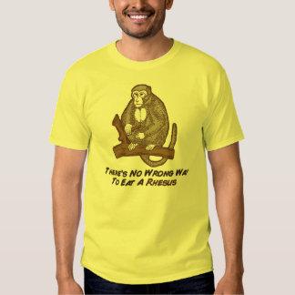 No hay manera incorrecta de comer un macaco de la playera