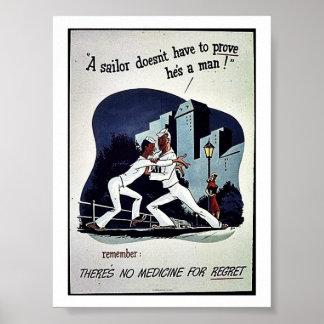 No hay medicina por pesar posters