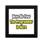 No hay miedo, el programador aquí cajas de regalo