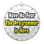 No hay miedo, el programador aquí tablero dardos
