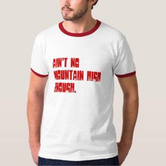 No hay montaña arriba bastante playera