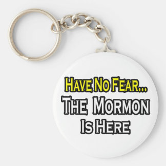 No hay mormón del miedo… aquí llavero personalizado