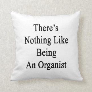 No hay nada como ser organista cojines
